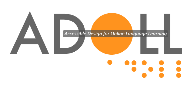 Accessible Design for Online Language Learning