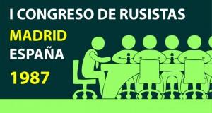 I Congreso de Rusistas de España