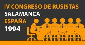 IV Congreso de Rusistas de España