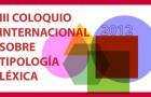 III Coloquio internacional sobre Tipología Léxica (LEXT-III)